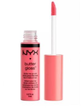 Матовый блеск для губ NYX BUTTER GLOSS, тон 03 PEACHES AND CREAM 2105/03