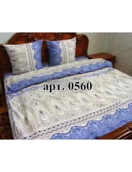 Двуспальный комплект постельного белья из бязи, Арт. 0560
