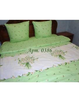 Двуспальный комплект постельного белья из бязи, Арт. 0386