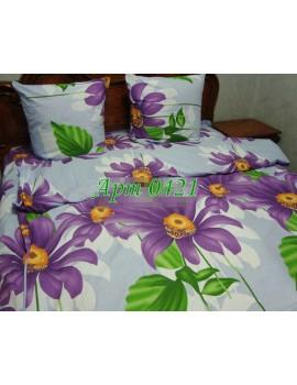 Двуспальный комплект постельного белья из бязи, Арт. 0421
