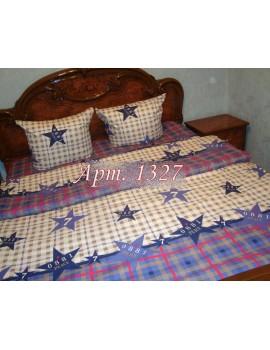 Полуторный комплект постельного белья из бязи, Арт. 1327