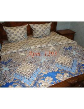 Семейный комплект постельного белья из бязи, Арт. 1293