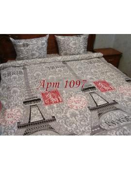 Семейный комплект постельного белья из бязи, Арт. 1097