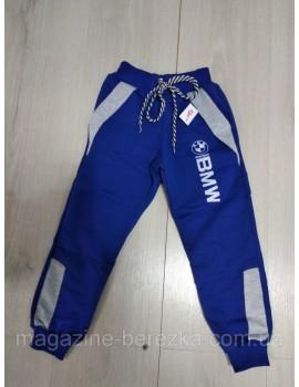 Спортивные штаны детские BMW размер 98-116 на 3-6 лет