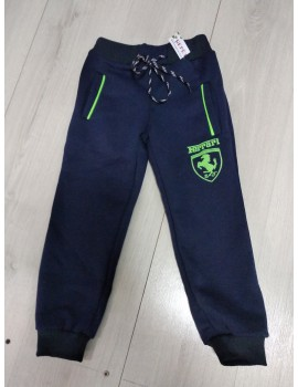 """Спортивные штаны на флисе """"Феррари"""", размер 104-116, на 4-6 лет"""