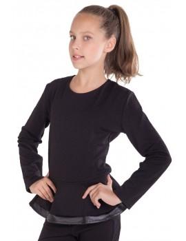 Блуза Лада, черный, размер 36