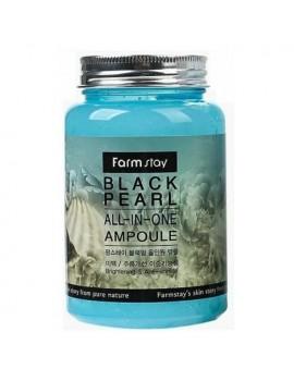 Сыворотка ампульная с экстрактом черного жемчуга Farmstay Black pearl All-in-one Ampoule 250 мл