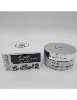 Патчи гидрогелевые с экстрактом черного жемчуга Medb Premium Black Pearl Patches 60 шт