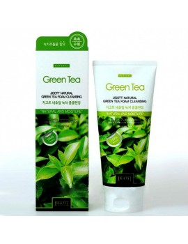 Пенка для умывания с зеленым чаем Jigott Natural Green Tea Foam Cleansing 180 мл
