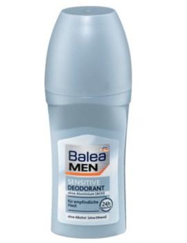 Дезодорант-антиперспирант мужской для чувствительной кожи Sensitive 50 мл BALEA