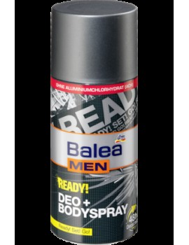 Дезодорант-спрей мужской Ready , 150 мл BALEA