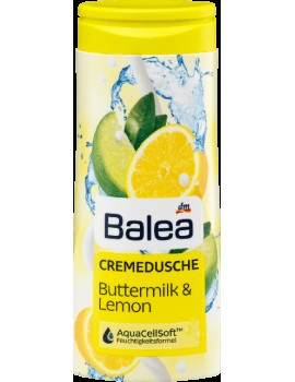 Гель для душа Balea Buttermilk & Lemon 300 мл (Германия)