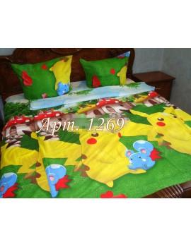 Детское постельное РАНФОРС, Желтый Покемон, рисунок 3Д 1269