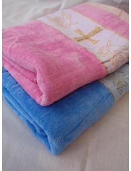 Полотенце для крещения, Крыжма. Голубая и Розовая 904