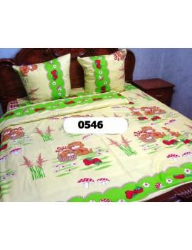 Постельное в детскую кроватку, манеж ПОЛЯНКА 0546 М
