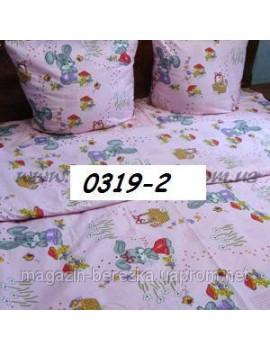 Постельное в детскую кроватку Зайка (роз) 0319-2 М