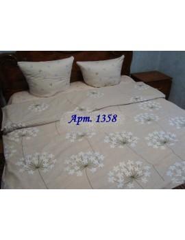 Полуторный комплект постельного, ранфорс, рисунок 3Д, 100% хлопок, Арт. 1358
