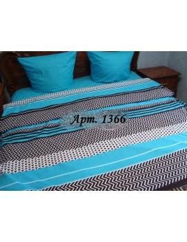 Семейный комплект постельного белья из бязи, Арт. 1366