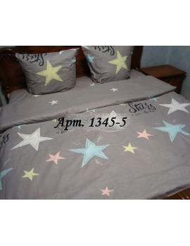 Двуспальный комплект постельного белья из бязи, Арт.  1345-5