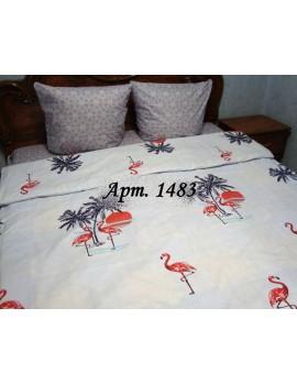 Двуспальный комплект постельного белья из бязи, Арт.  1483