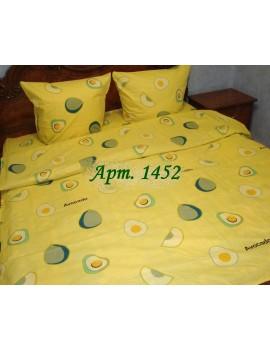 Евро-комплект постельного белья из бязи, Арт. 1452