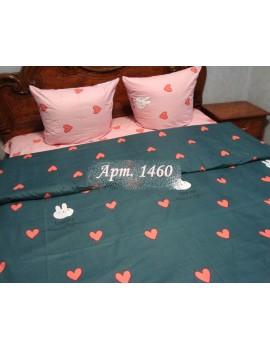 Евро-комплект постельного белья из бязи, Арт. 1460