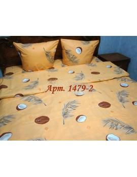 Евро-комплект постельного белья из бязи, Арт. 1479-2