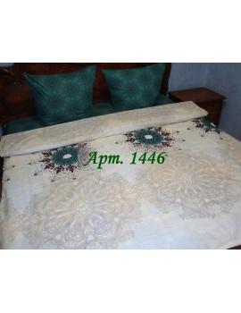 Полуторный комплект постельного белья из бязи, Арт. 1446