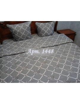 Полуторный комплект постельного белья из бязи, Арт. 1448