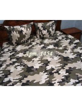 Полуторный комплект постельного белья из бязи, Арт. 1454