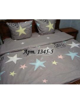 Семейный комплект постельного белья из бязи, Арт. 1345-5