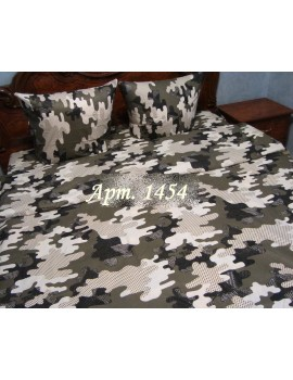 Семейный комплект постельного белья из бязи, Арт. 1454