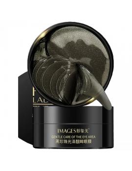 Гідрогелеві патчі під очі з чорним перлами і ламінарією Images Pearl Lady Series Eye Mask, 80г / 60шт