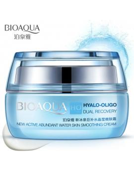 Крем для обличчя з олігомером гіалуронової кислоти Bioaqua Hyalo-Oligo Dual Recovery Smoothing Cream, 50г