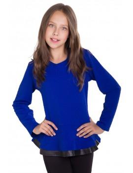 Блуза Лада, синий, размер 36