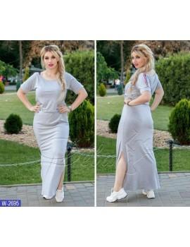 Платье W-2695