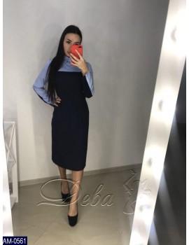 Платье-Рубашка AM-0561