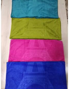 Полотенце из микрофибры Эйфелевая башня, размер 50*90 см цвета на выбор