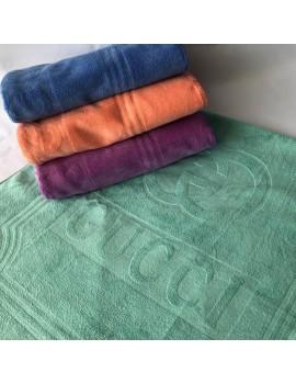 ЛИЦЕВОЕ полотенце микрофибра Гуччи (голубое)