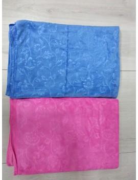 Большое полотенце САУНА, размер 180*100 см. Микрофибра. Цвет голубой