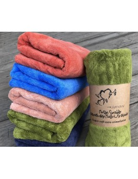 БАННОЕ полотенце микрофибра супер софт. Махровые полотенца оптом 51-1