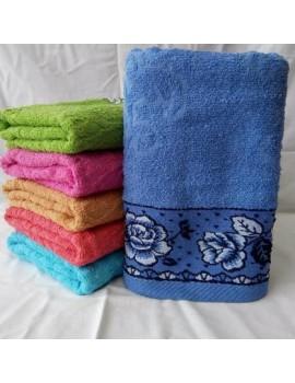 БАННОЕ махровое полотенце. Махровые полотенца оптом 143-1