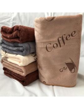 Кухонные полотенца из микрофибры Кофе, размер 35*75. В упаковке 10 шт. Арт. 292/1