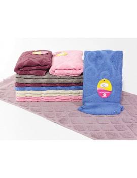 Кухонные полотенца махра. размер 35*75 см (в уп. 12 шт) 232 (
