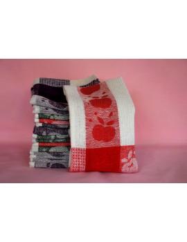 Вафельные полотенца для кухни, дешево (в уп. 10шт) 416