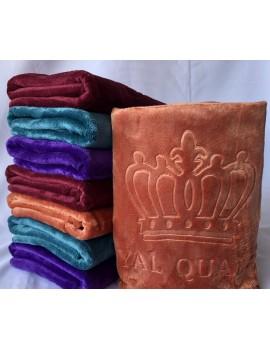 "Полотенце САУНА ""Корона"" микрофибра Турция, размер 1,8*1,0 м. Полотенца оптом 514"