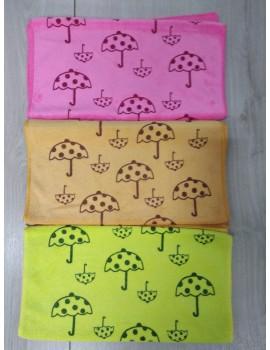 "Полотенца Микрофибра ""Зонтики"" размер 35*70 см"