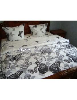 Двуспальный комплект постельного белья из ранфорса, рисунок 3Д, 100% хлопок, Арт. 0144-2