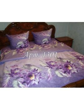 Евро-комплект постельного белья из ранфорса, рисунок 3Д, 100% хлопок, Арт. 1301