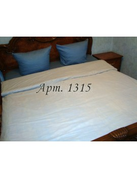 Евро-комплект постельного белья из ранфорса, рисунок 3Д, 100% хлопок, Однотонное Арт. 1315